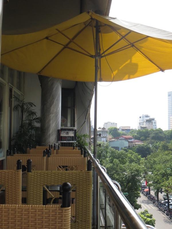 City View Cafe Hanoi Menu